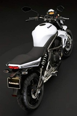 Kawasaki er6 2009 bialy