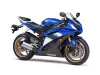 Yamaha R6 niebieska 2008