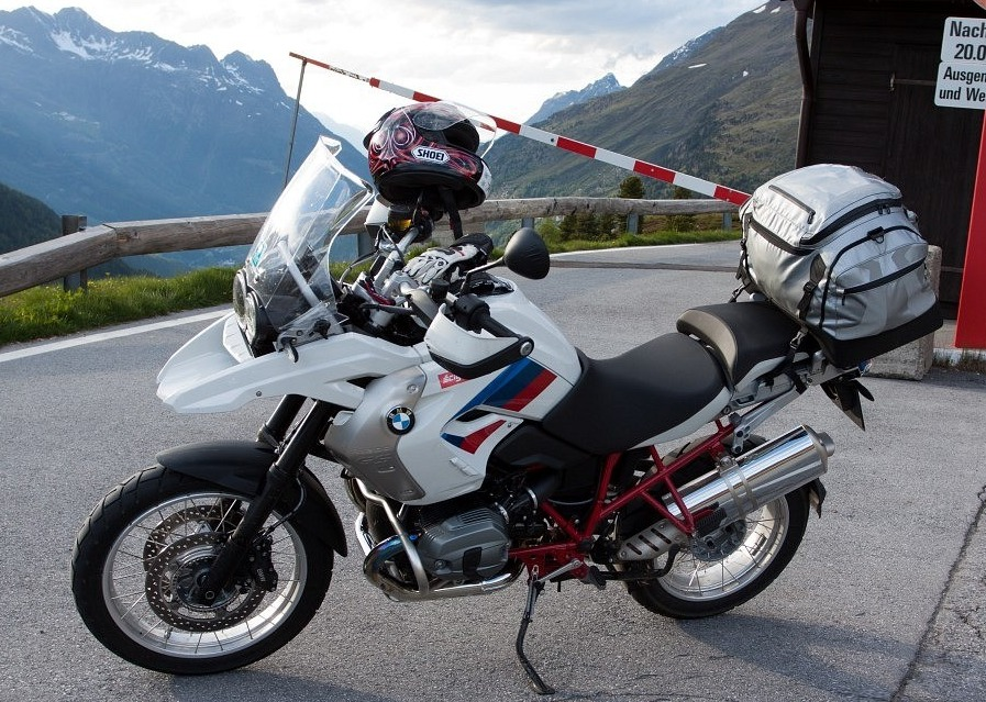 BMW gs1200 przelecz alpenmasters 2012