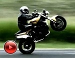 Triumph Speed Triple jazda na gumie