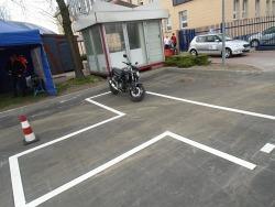 Motocykl gotowy do jazdy