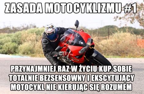 Zasada Motocyklizmu 1