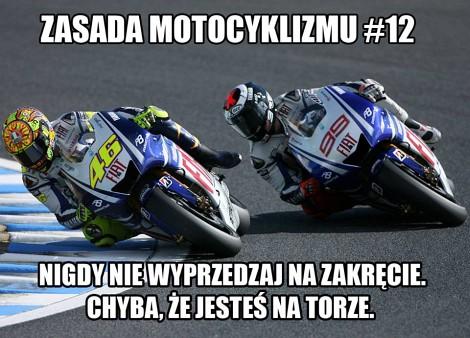 Zasada Motocyklizmu 12