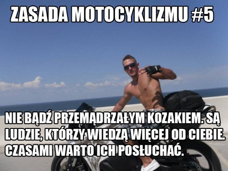 Zasada Motocyklizmu 5