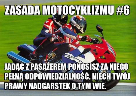 Zasada Motocyklizmu 6