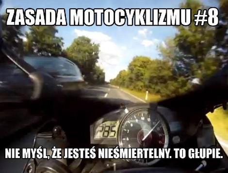 Zasada Motocyklizmu 8