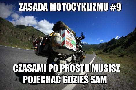 Zasada Motocyklizmu 9