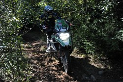 BMW GS Trophy 2014 trudny teren