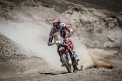 Dakar 2015 Joan Barreda Bort pustynia