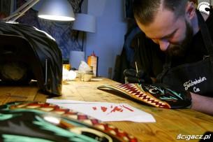 Malowanie swanski Konkurs Scrambler Custom Rumble