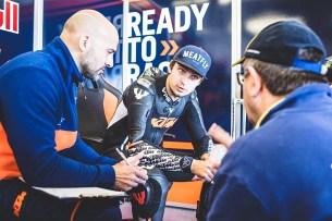 Karel Abraham Mika Kallio KTM RC16 Box Misano 2016