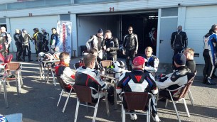 BMW Winter Test 2017 Almeria paddok