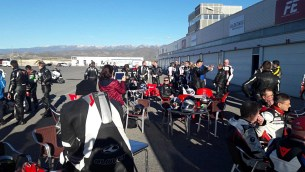 BMW Winter Test 2017 Almeria tor
