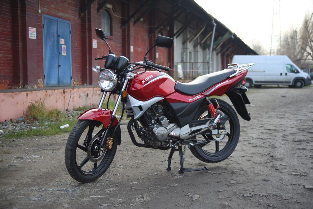 Zdjęcia: Kymco Pulsar 125 07 - Kymco Pulsar 125 budzetowy