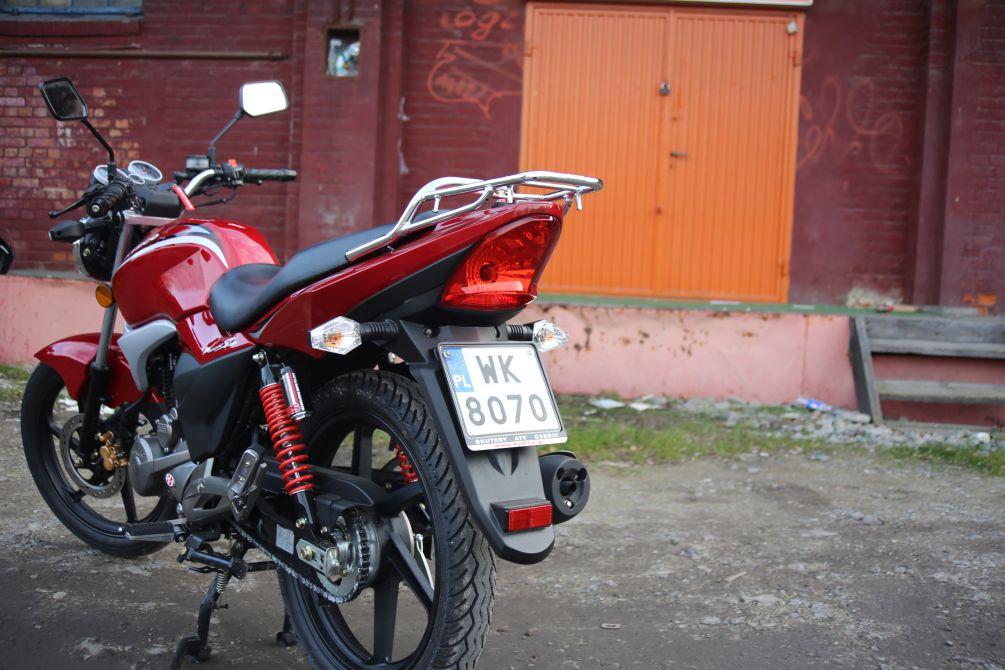 Zdjęcia: Kymco Pulsar 125 17 - Kymco Pulsar 125 budzetowy