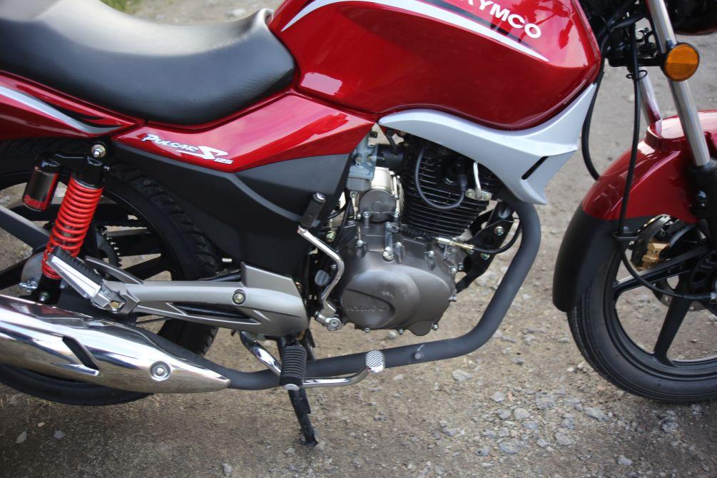 Zdjęcia: Kymco Pulsar 125 01 - Kymco Pulsar 125 budzetowy