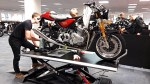 montaz motocykla norton fabryka