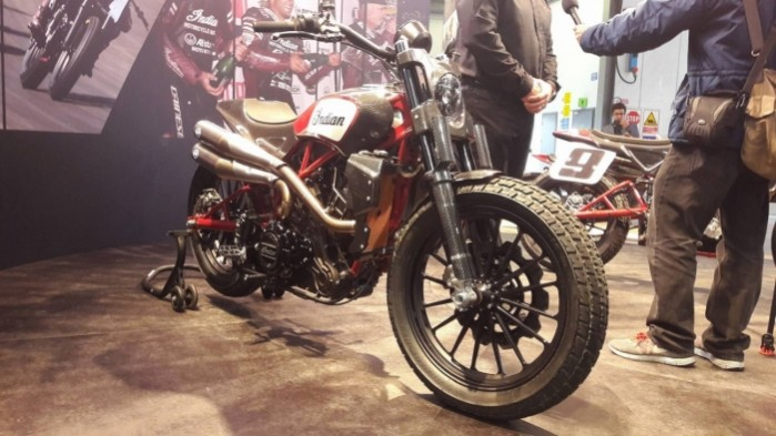 12 Indian Scout FTR1200