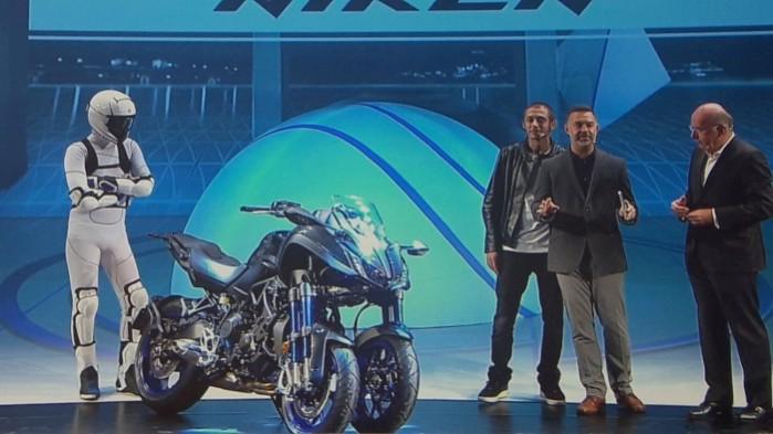 23 Yamaha Niken 2018 prezentacja Eicma