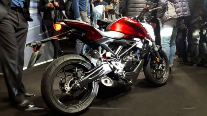9a Honda CB125R nowosc 2018