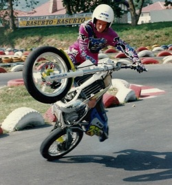 AC Farias stunt show old times