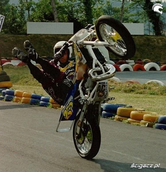 history of stunt riding AC Farias stunt show