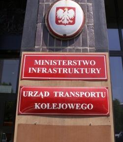 ministerstwo infrastruktury urzad transportu kolejowego protest przeciwko oplatom na autostradach