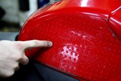 Nakladki na bak daja dobre oparcie kierowcy i maskuja rysy