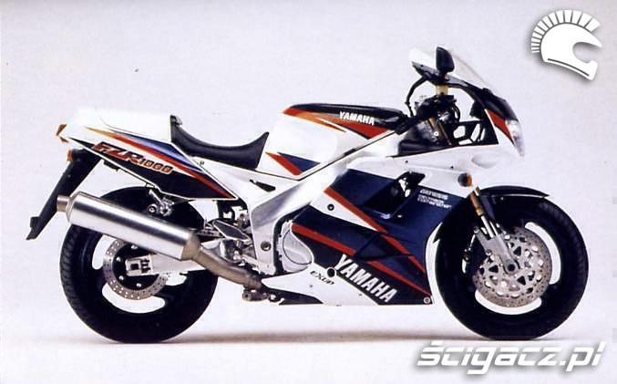 Yamaha FZR1000 Genesis katalogowe