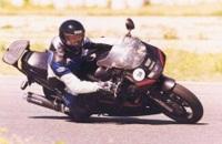 Yamaha FZR1000 jazda