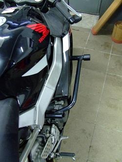 Motocykl klatka od gory