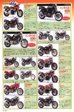 Suzuki Bandit 250 400 broszura japonska