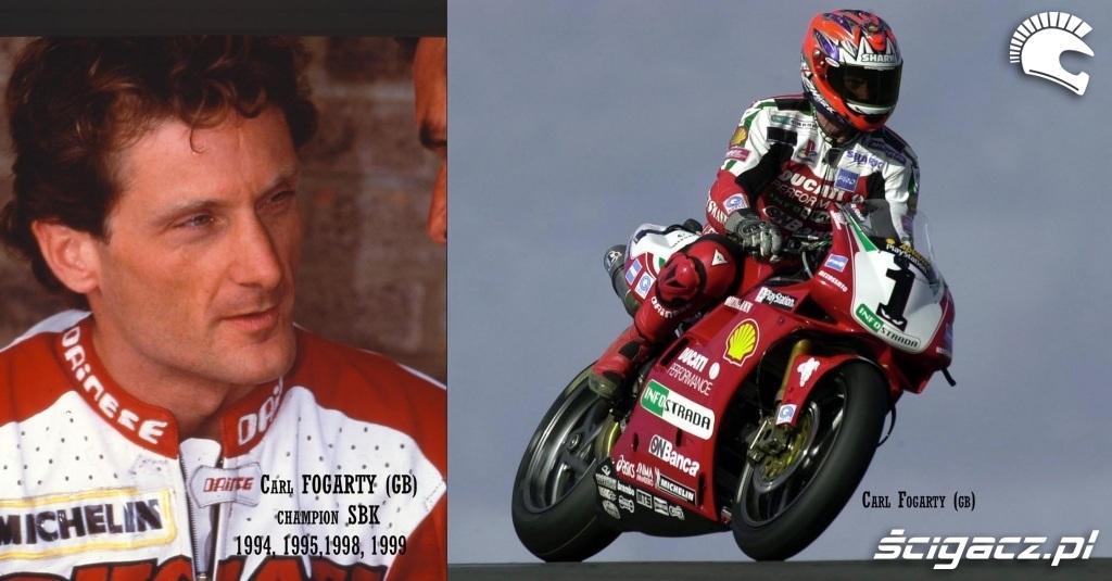 Zdjęcia: 9 Carl Fogarty Ducati - World Superbike historia i zasady