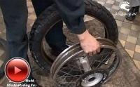 Wymiana opony w motocyklu