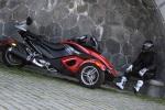 Can-am Spyder 990 postoj