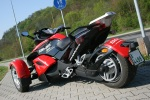 Can-am Spyder 990 profil z tylu