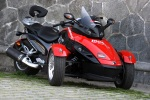 Can-am Spyder 990 przod