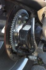 Can-am Spyder 990 tylna tarcza
