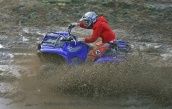 Yamaha Grizzly 700 Fi dirt