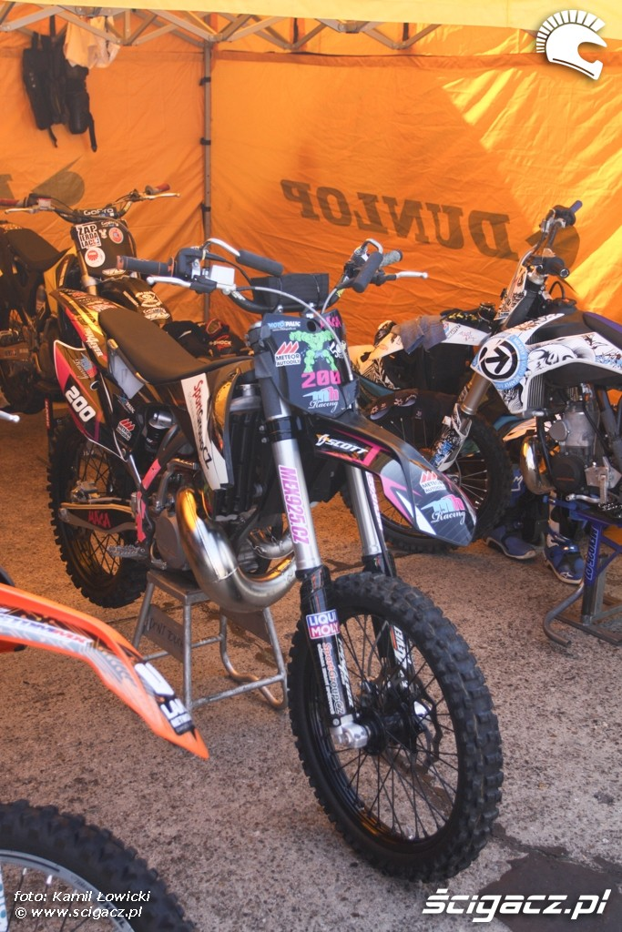Motocykl cross Intercars Motor Show