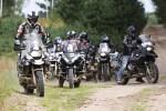 grupa motocyklistow BMW GSTrophy 2016 Dadaj