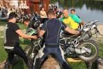przerzucanie motocykla BMW GSTrophy 2016 Dadaj