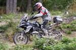 szybka jazda po lesie BMW GSTrophy 2016 Dadaj