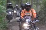 uczestnik w lesie BMW GSTrophy 2016 Dadaj