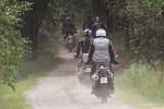 wjazd do lasu BMW GSTrophy 2016 Dadaj
