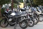 zaparkowane motocykle BMW GSTrophy 2016 Dadaj