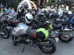 zaparkowane po przyjadzie motocykle BMW GSTrophy 2016 Dadaj