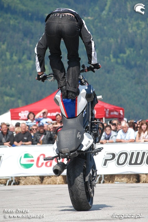 Stunt show Chris Pfeiffer