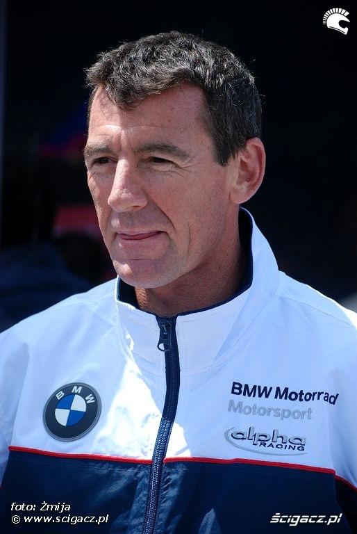 Troy Corser BMW Team