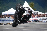 Stunt cyrkle Chris Pfeiffer